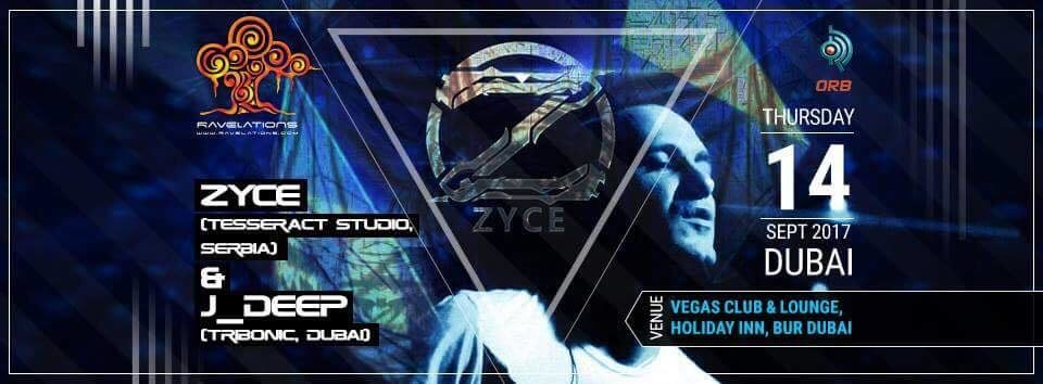 Party flyer: RAVELATIONS feat. ZYCE 14 Sep '17, 21:00