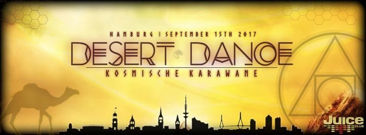 Party flyer: Desert Dance - Preparty Hamburg 15 Sep '17, 22:00