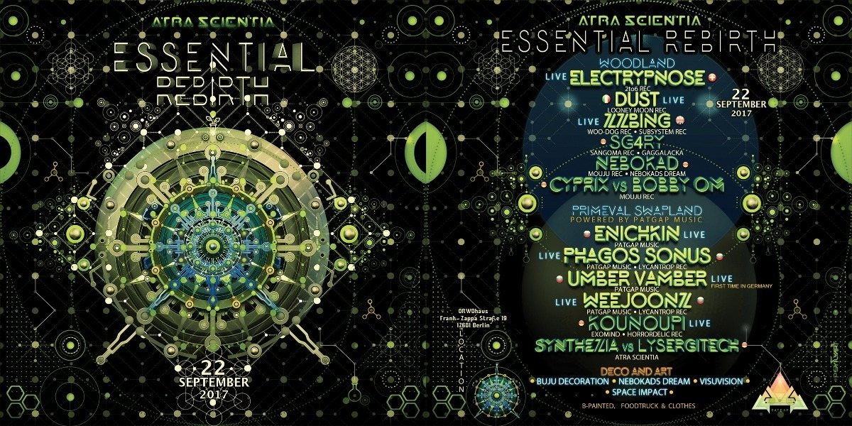 Atra Scientia • Essential Rebirth 22 Sep '17, 23:00