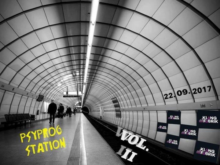 Party flyer: Psyprog Station Vol. 2 22 Sep '17, 23:00