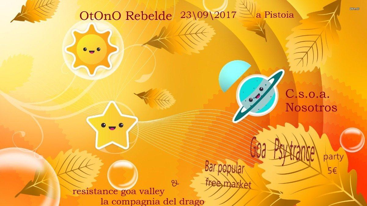 Party flyer: Otoño Rebelde 23 Sep '17, 18:00