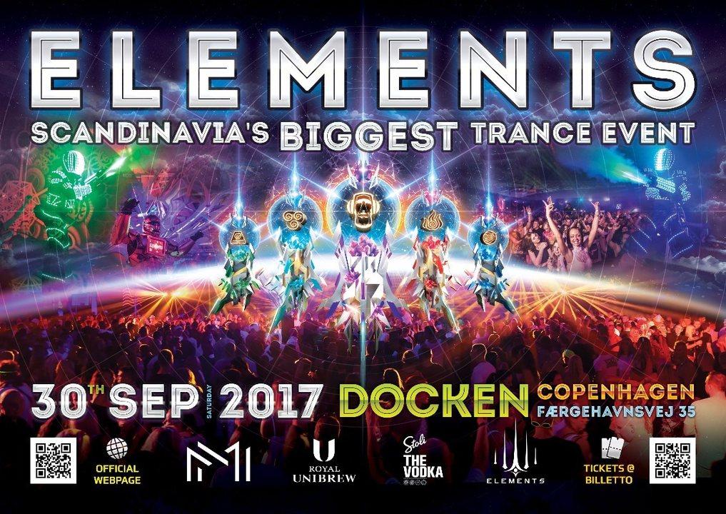Party flyer: Elements #6 30 Sep '17, 20:30