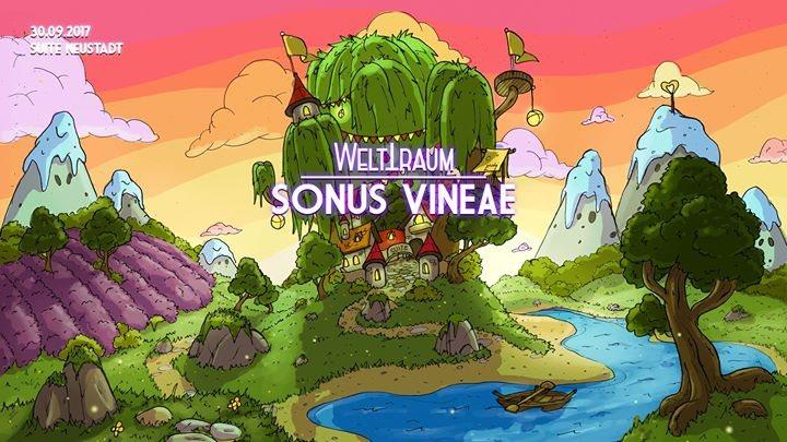 Party flyer: WeltTraum präsentiert Sonus Vineae 30 Sep '17, 14:00