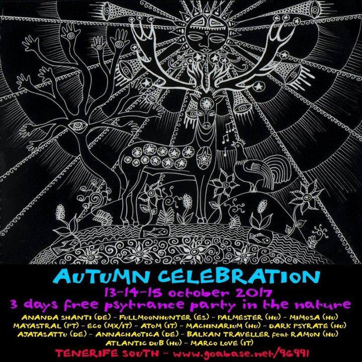 Party flyer: Autumn Celebration 2017 13 Oct '17, 18:00