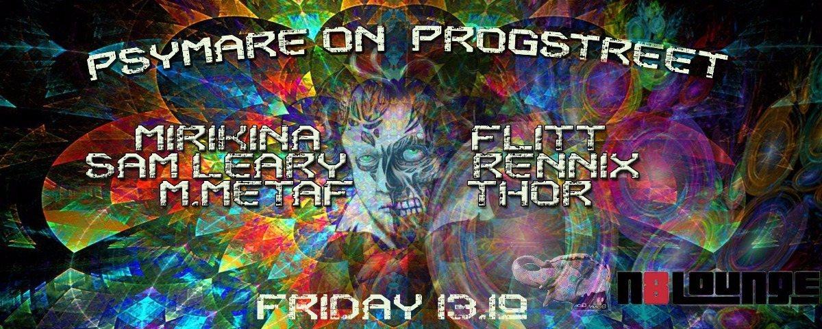 Party flyer: Bonn Goa : Psymare on Progstreet 13 Oct '17, 22:00
