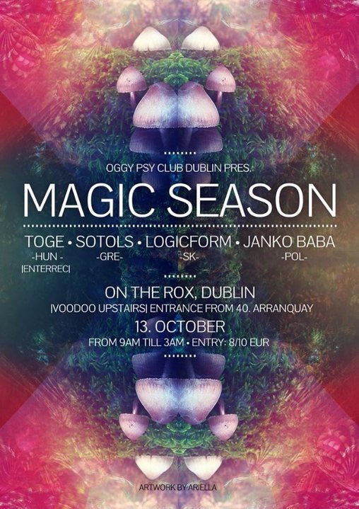 Magic Season with TOGE (Hun) & friends 13 Oct '17, 21:00