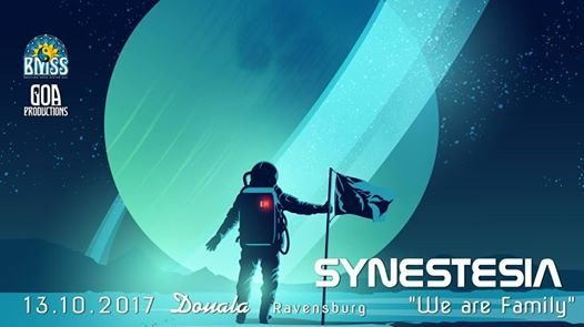 """Party flyer: Synestesia """"We Are Family"""" 13 Oct '17, 22:00"""