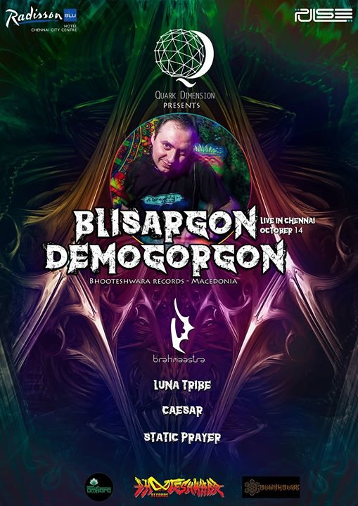 Blisargon Demogorgon {Macedonia} Live in Chennai 14 Oct '17, 20:00