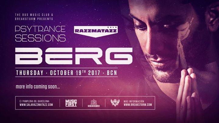 Party flyer: Berg en Razzmatazz 19 Oct '17, 23:55