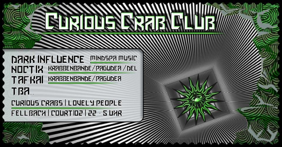 CCC #1 - Courios Crab Club by Pagudea Tribe 21 Oct '17, 22:00