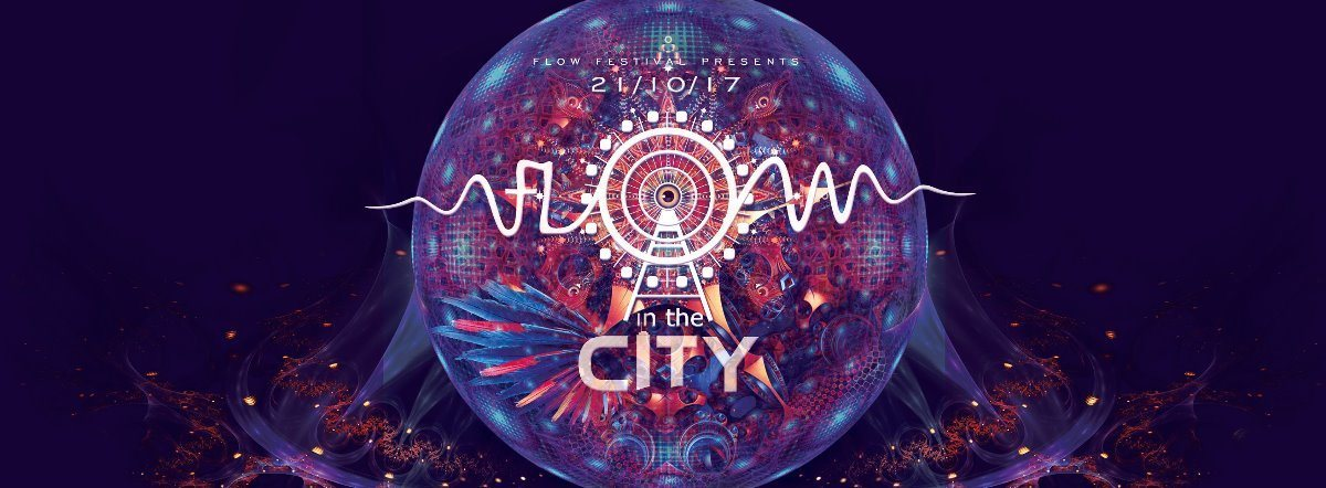 Party flyer: FLOW in the CITY 2017 21 Oct '17, 22:00