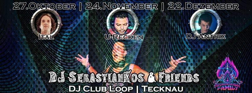 DJ SebastianKos & Friends with ITAL (Antu rec.) 27 Oct '17, 22:00