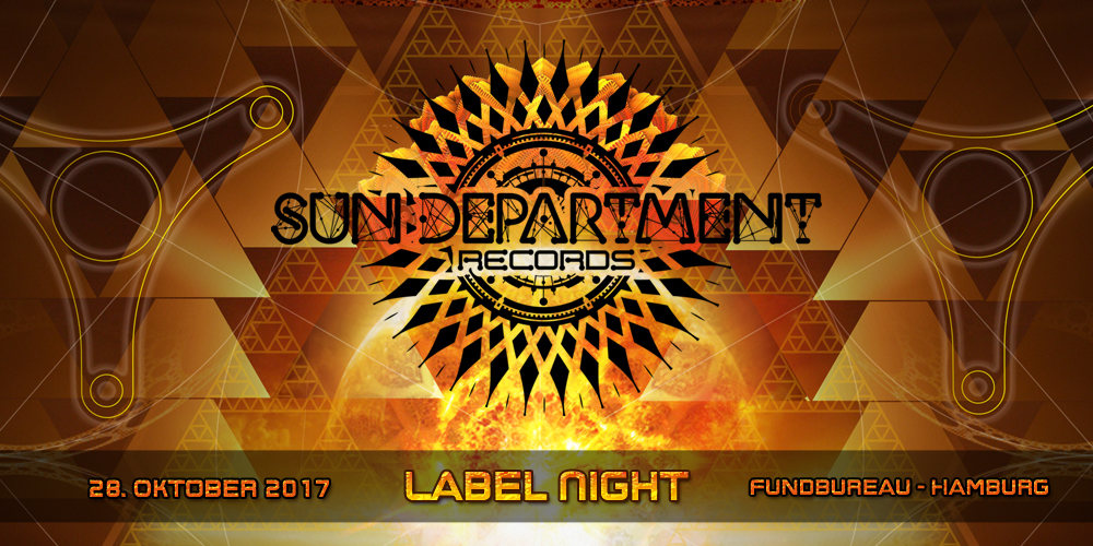 Party flyer: Sun Department Label Night 28 Oct '17, 22:00