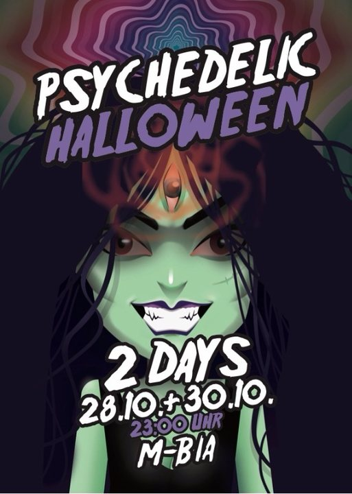 Psychedelic Halloween / 2 Days 28.10+30.10 30 Oct '17, 23:00