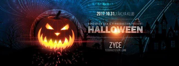 31 Oktober Halloween Feest.Halloween Party Zyce Faklya Klub 31 Oct 2017