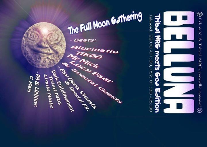 Belluna -Full Moon Party - Goa Edition 4 Nov '17, 22:00