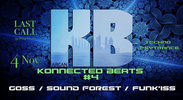 Party flyer: Konnected Beats #4 4 Nov '17, 23:00