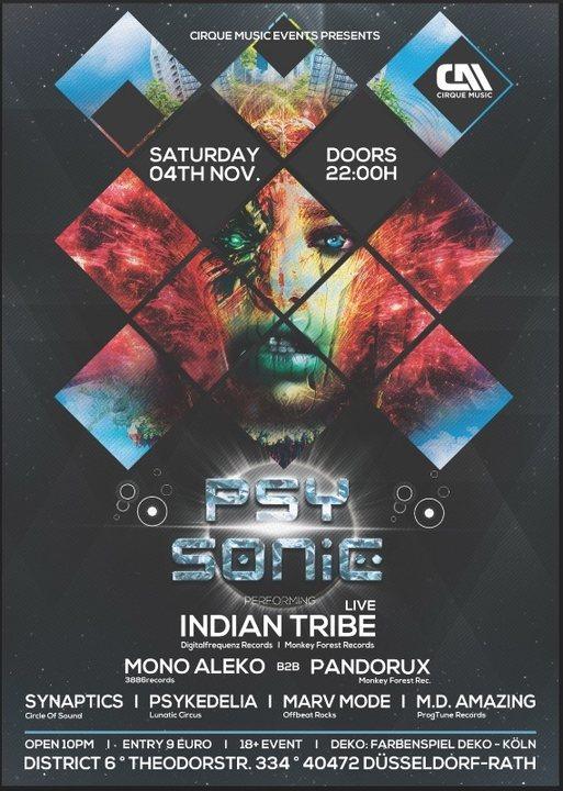 Psysonic 4 Nov 2017 Dusseldorf Germany Goabase