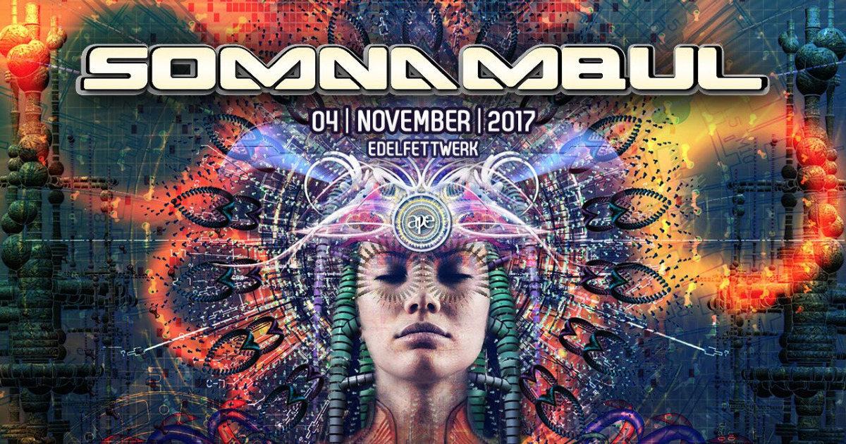 Party flyer: ***SOMNAMBUL 2017*** 4 Nov '17, 21:00