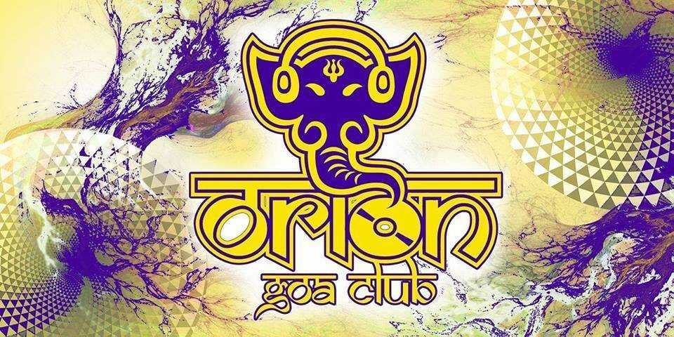 Party flyer: Orion Goa Club 7 Nov '17, 23:00