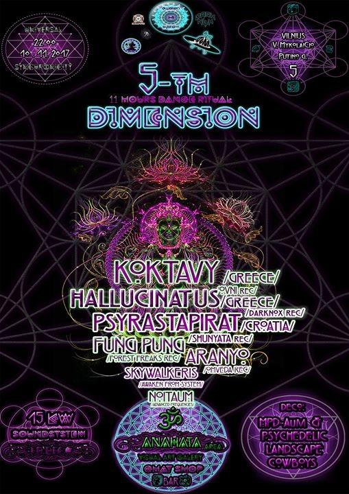 5-TH Dimension 10/11-11/11 (Universal synchronicity) 10 Nov '17, 22:00