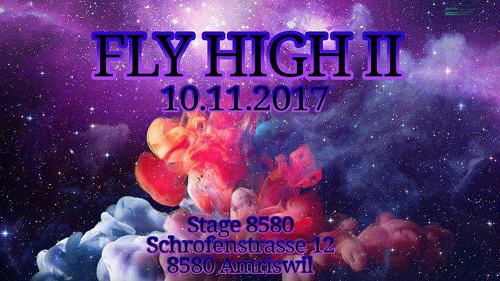 Party flyer: Fly High II 10 Nov '17, 22:00