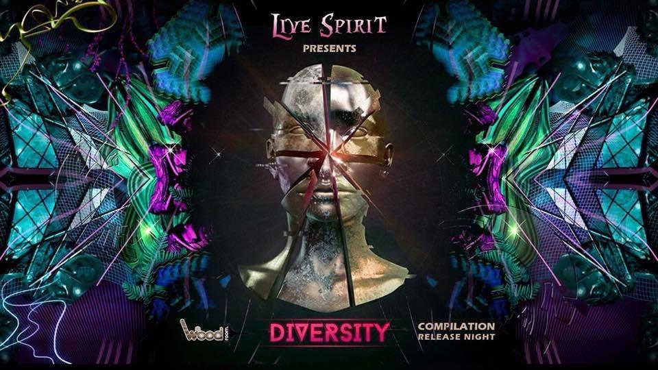 Party flyer: Live Spirit / Woodroom Night 10 Nov '17, 23:00