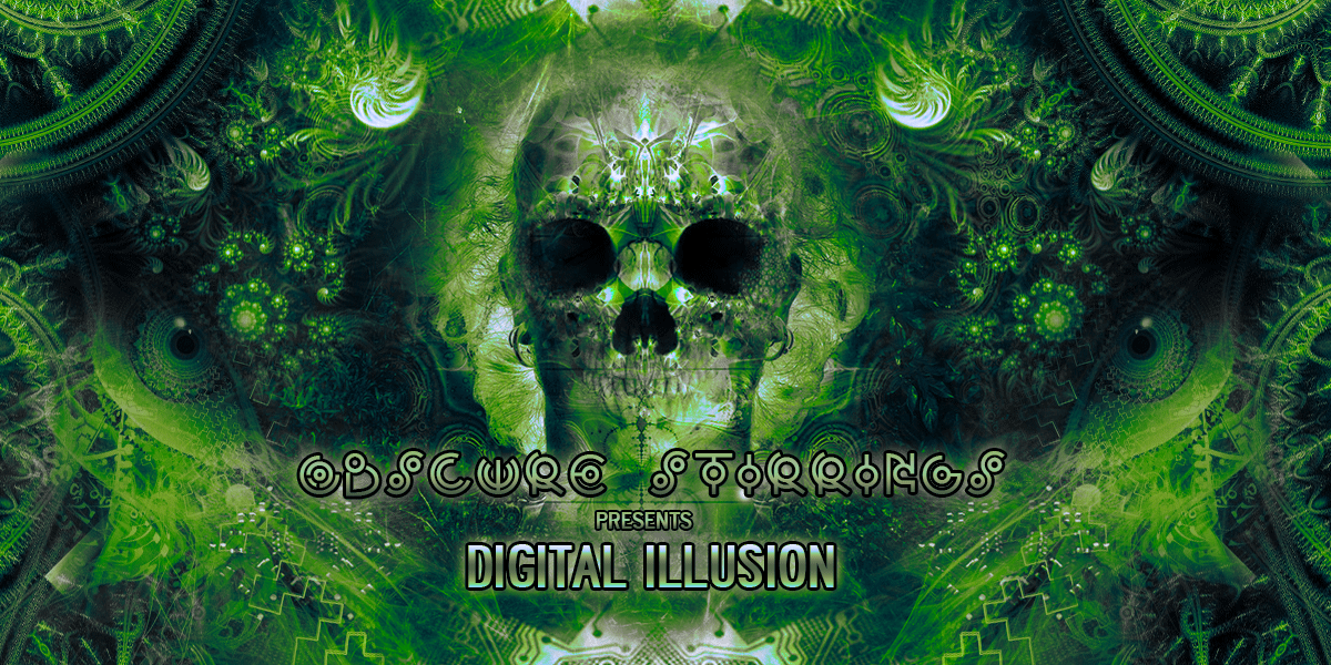 Party flyer: Obscure Stirrings presents: Digital Illusion 10 Nov '17, 23:00