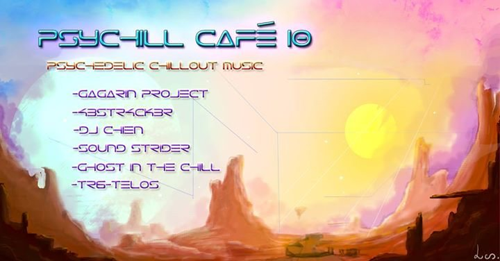 Party flyer: Psychill Café 10 10 Nov '17, 18:00