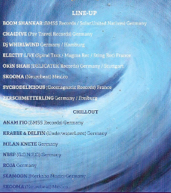 SOUND OF THE SEA 10 Nov '17, 22:00
