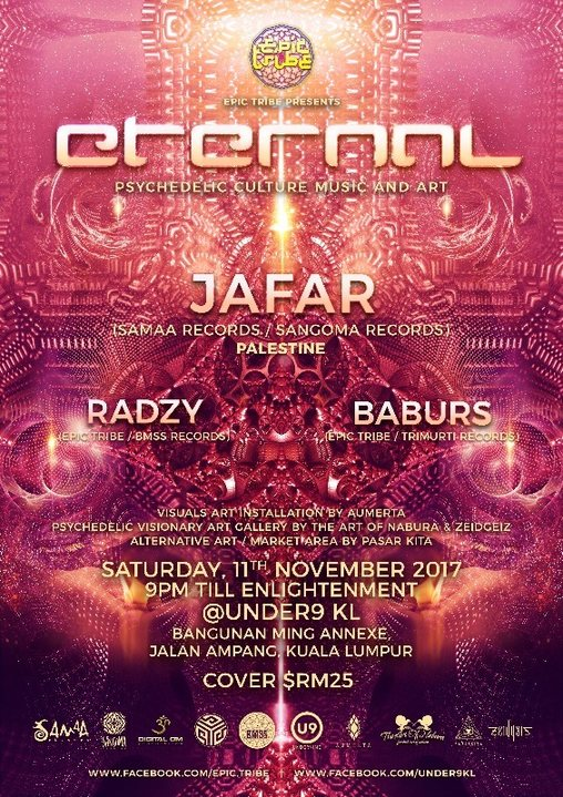 EPIC Tribe pres. ETERNAL 11 Nov '17, 21:00