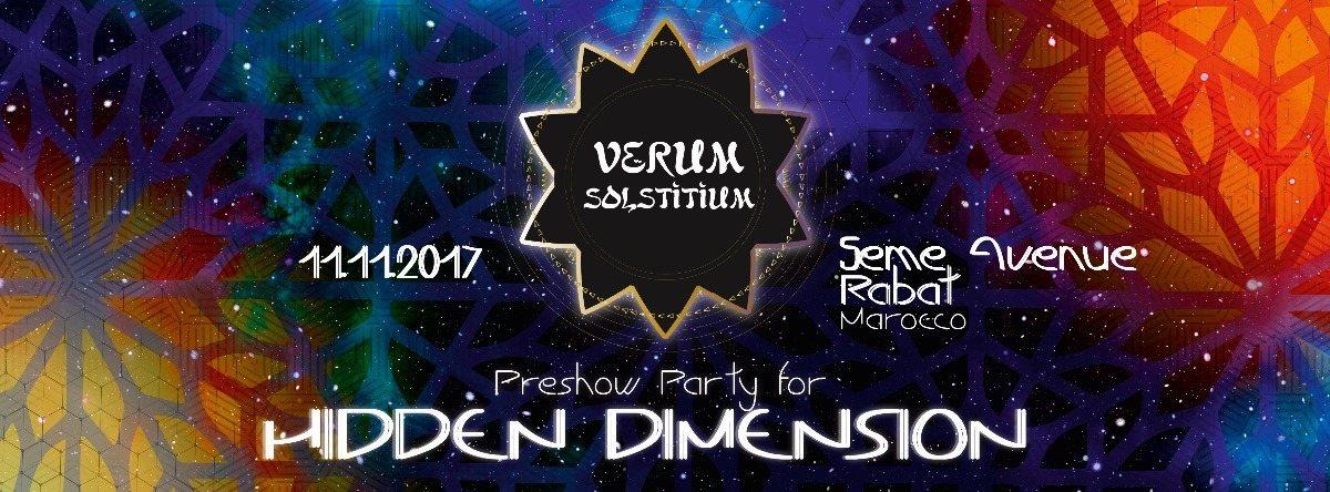 Hidden Dimension PREPARTY 11 Nov '17, 22:00