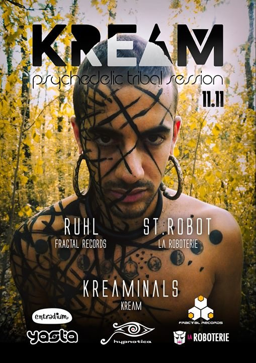 Party flyer: KREAM 11.11 11 Nov '17, 23:55