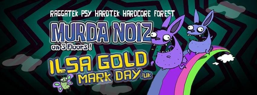 Party flyer: Murda Noiz 11 Nov '17, 22:00
