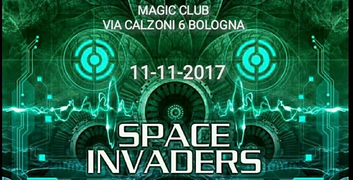 Party flyer: ★▻◥♔ॐ SPACE INVADERS 2.0 ॐ♔◤◅★ ★free x tutti entro le 23:30★ 11 Nov '17, 22:00