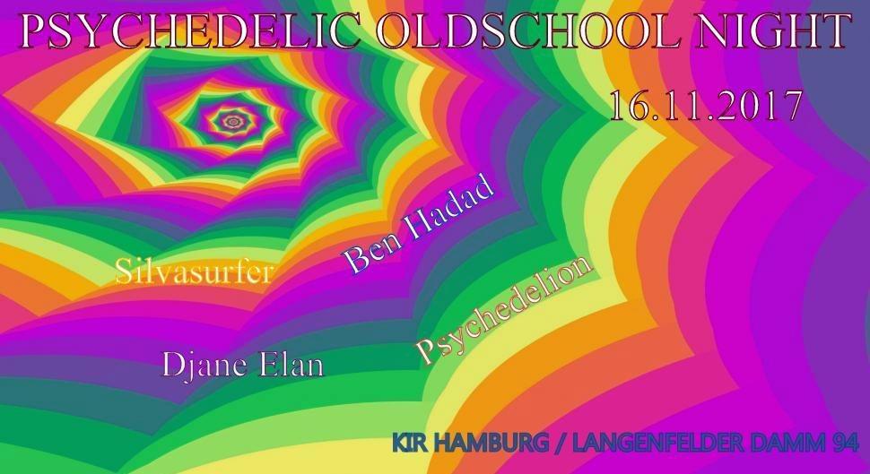 Party flyer: Psychedelic Oldschool Night 16 Nov '17, 20:00