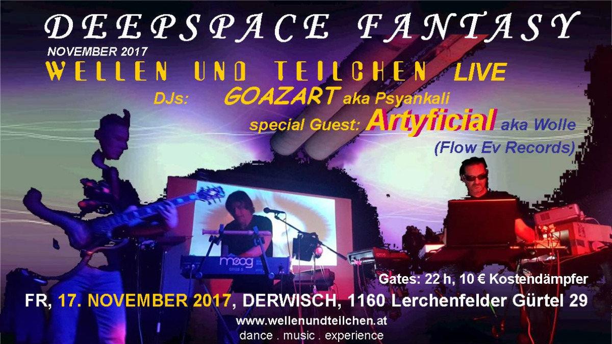 Party flyer: Deepspace Fantasy 17 Nov '17, 22:00