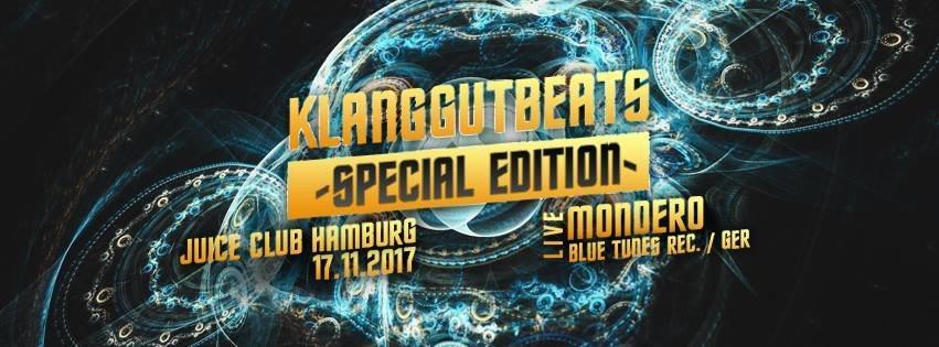 KlangGut Beats ●● Special Edition 17 Nov '17, 23:00