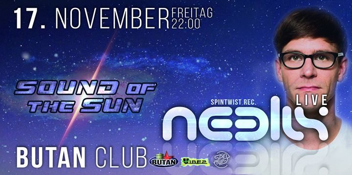 Party flyer: Sound of the Sun / Indoor Festival / 5 Areas with Neelix uvm 17 Nov '17, 22:00