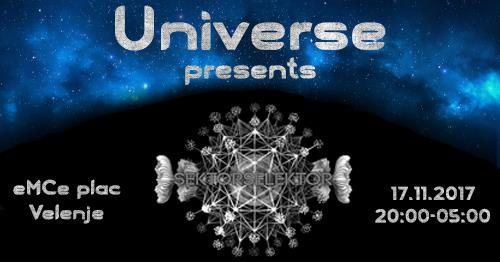 Universe presents: SektorSelektor 17 Nov '17, 20:00