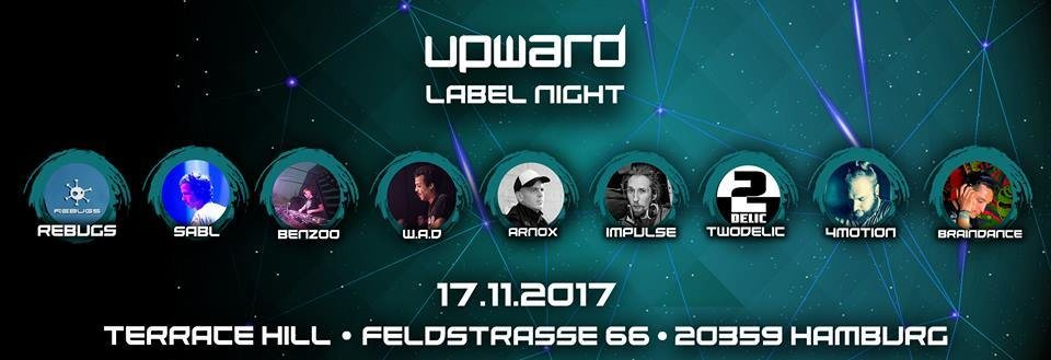 Party flyer: UPWARD RECORDS (Label Night) 17 Nov '17, 22:00