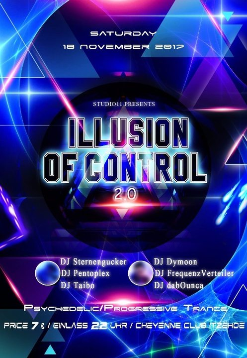 Illusion Of Control 2.0 18 Nov '17, 22:00