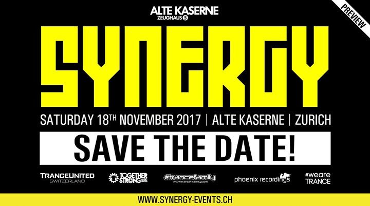 SYNERGY at Alte Kaserne Zurich 18 Nov '17, 22:00