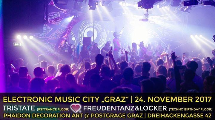 """Electronic Music City """"Psytrance Night"""" 24 Nov '17, 23:00"""