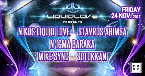 Liquid Love / Friday 24 November 24 Nov '17, 23:59