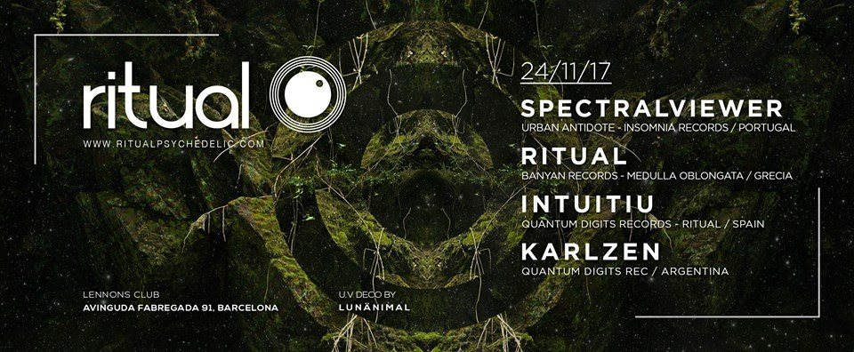 Ritual ( ? Live! ) at Lennons Club, Barcelona 24 Nov '17, 23:00