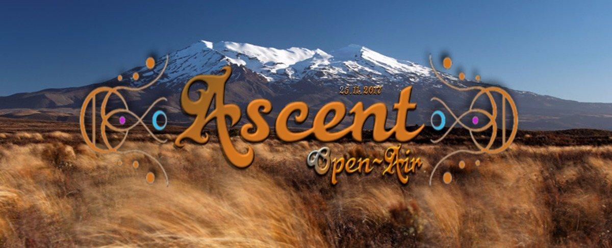 Party flyer: Ascent - OpenAir 25 Nov '17, 22:00