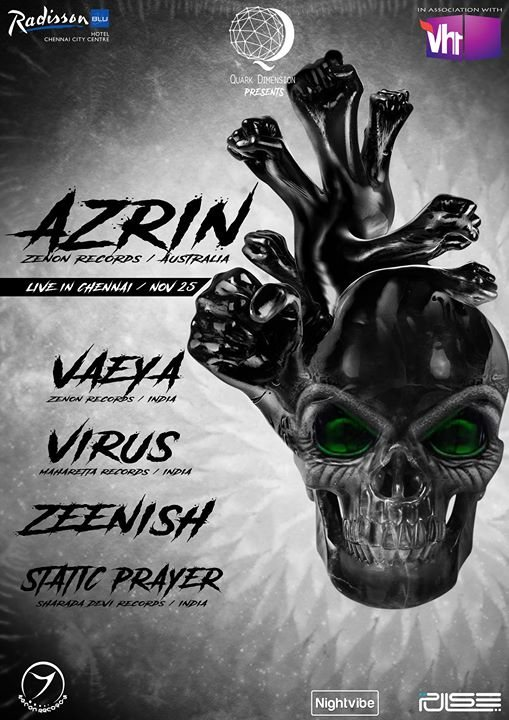 AZRIN Live in Chennai 25 Nov '17, 20:00