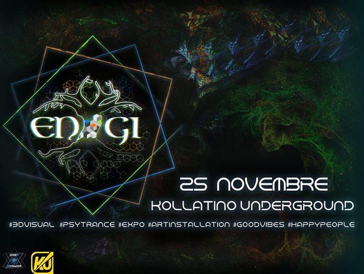 Party flyer: ENGI 25 Nov '17, 23:00