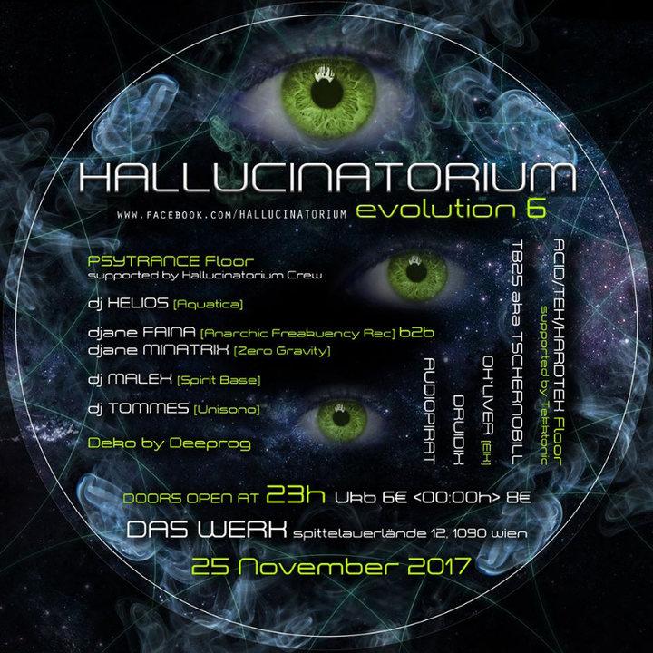 Hallucinatorium Evolution 6 25 Nov '17, 23:00